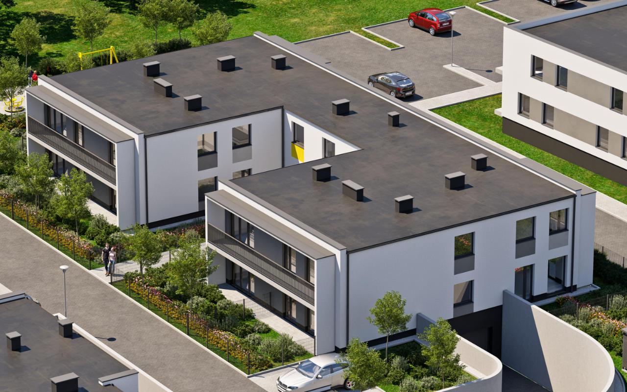 Budynek D - widok inwestycji