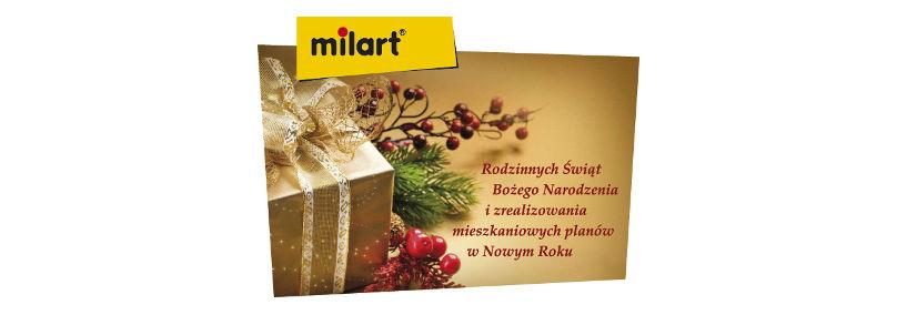 Milart - Życzenia Świąteczne