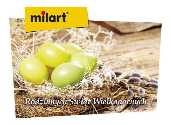 Milart - Rodzinnych Świąt Wielkanocnych