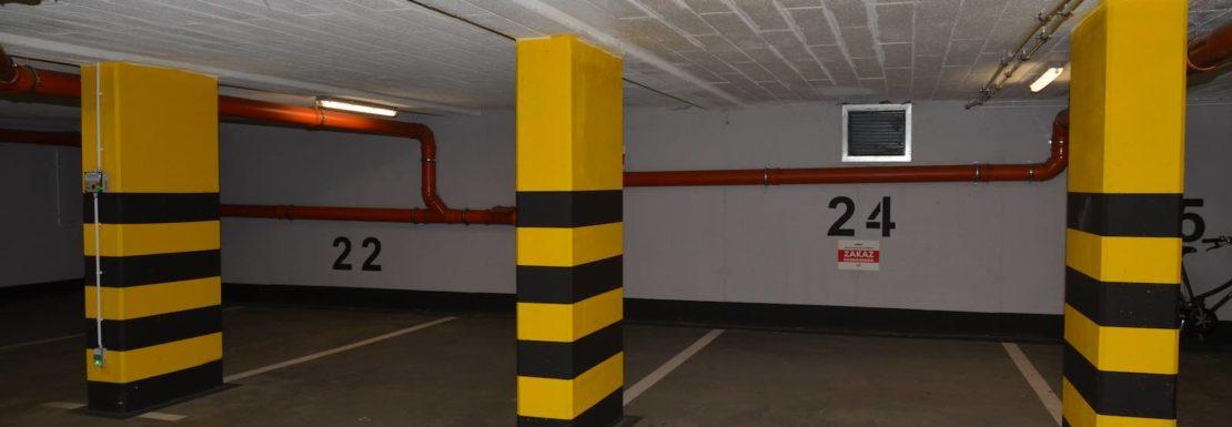 Ostanie miejsca postojowe w garażu podziemnym