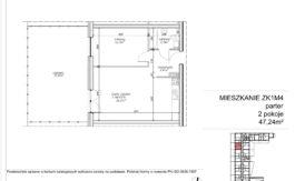 Milart Żmudzka 10-12 - Mieszkanie ZK1M04