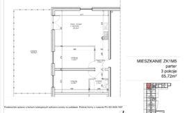 Milart Żmudzka 10-12 - Mieszkanie ZK1M05