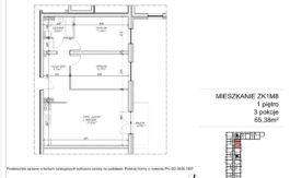 Milart Żmudzka 10-12 - Mieszkanie ZK1M08