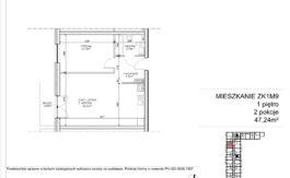 Milart Żmudzka 10-12 - Mieszkanie ZK1M09