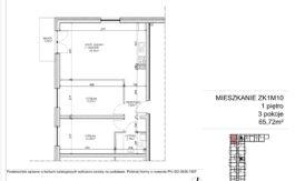 Milart Żmudzka 10-12 - Mieszkanie ZK1M10