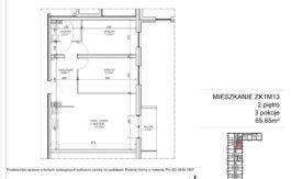 Milart Żmudzka 10-12 - Mieszkanie ZK1M13