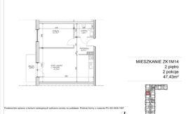 Milart Żmudzka 10-12 - Mieszkanie ZK1M14