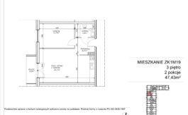 Milart Żmudzka 10-12 - Mieszkanie ZK1M19