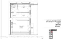 Milart Żmudzka 10-12 - Mieszkanie ZK1M23