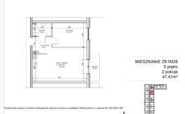 Milart Żmudzka 10-12 - Mieszkanie ZK1M28