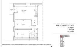 Milart Żmudzka 10-12 - Mieszkanie ZK1M30