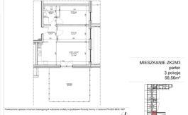 Milart Żmudzka 10-12 - Mieszkanie ZK2M03