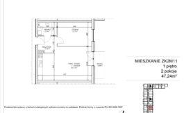 Milart Żmudzka 10-12 - Mieszkanie ZK2M11
