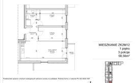Milart Żmudzka 10-12 - Mieszkanie ZK2M12
