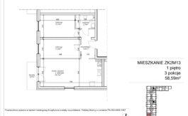 Milart Żmudzka 10-12 - Mieszkanie ZK2M13