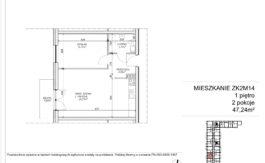 Milart Żmudzka 10-12 - Mieszkanie ZK2M14