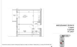 Milart Żmudzka 10-12 - Mieszkanie ZK2M15
