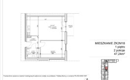 Milart Żmudzka 10-12 - Mieszkanie ZK2M18