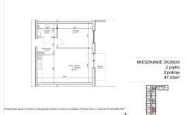 Milart Żmudzka 10-12 - Mieszkanie ZK2M20