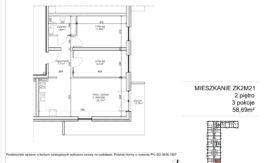 Milart Żmudzka 10-12 - Mieszkanie ZK2M21
