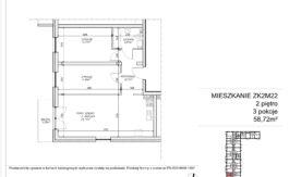 Milart Żmudzka 10-12 - Mieszkanie ZK2M22