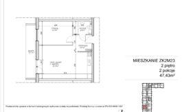 Milart Żmudzka 10-12 - Mieszkanie ZK2M23