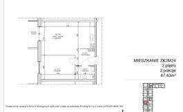 Milart Żmudzka 10-12 - Mieszkanie ZK2M24