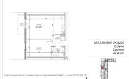 Milart Żmudzka 10-12 - Mieszkanie ZK2M26