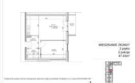 Milart Żmudzka 10-12 - Mieszkanie ZK2M27