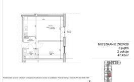 Milart Żmudzka 10-12 - Mieszkanie ZK2M28