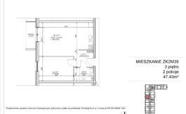 Milart Żmudzka 10-12 - Mieszkanie ZK2M35