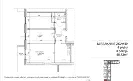 Milart Żmudzka 10-12 - Mieszkanie ZK2M40