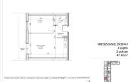 Milart Żmudzka 10-12 - Mieszkanie ZK2M41