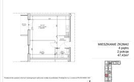 Milart Żmudzka 10-12 - Mieszkanie ZK2M42