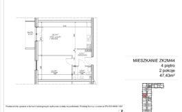 Milart Żmudzka 10-12 - Mieszkanie ZK2M44