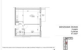 Milart Żmudzka 10-12 - Mieszkanie ZK2M45