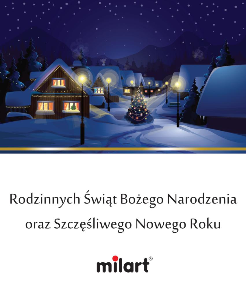 Rodzinnych Świąt Bożego Narodzenia oraz Szczęśliwego Nowego Roku